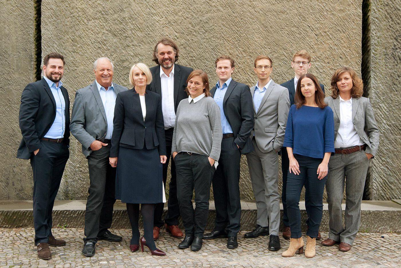 Gruppenbild der MMM Consulting GmbH