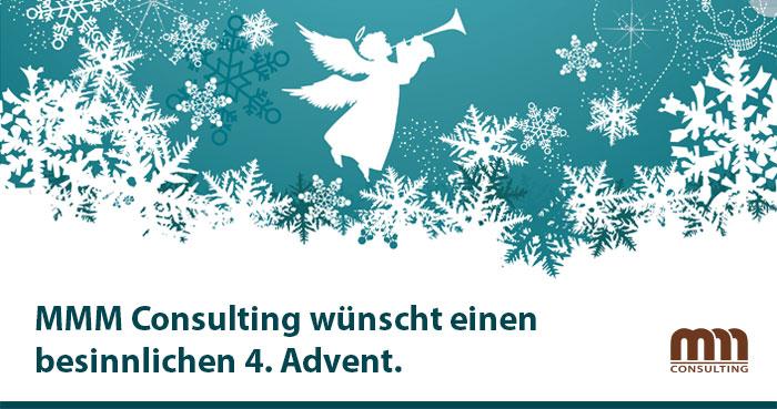 MMM Consulting wünscht einen stimmungsvollen 4. Advent